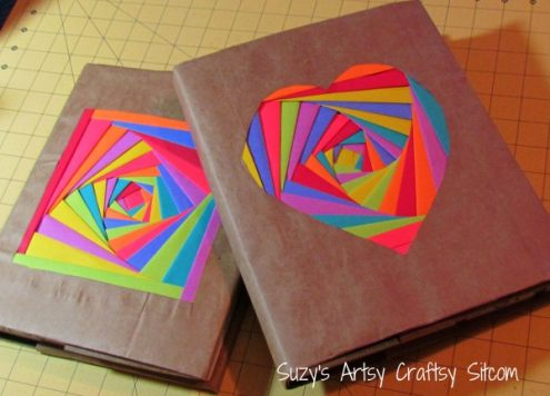 Folded Paper Book Covers