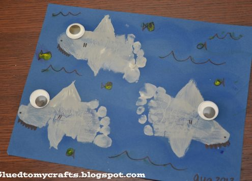 Make Footprint Sharks
