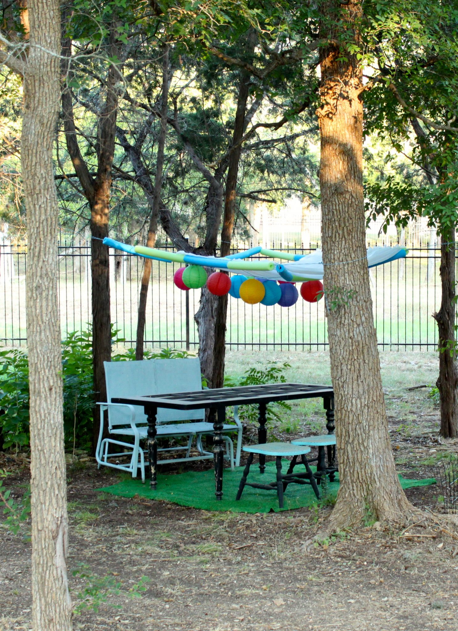 Tutorial Make Your Own Party Canopy 187 Dollar Store Crafts