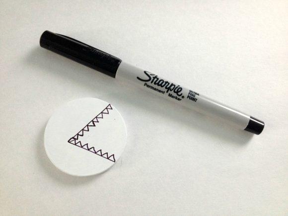 Make an Easy Shark Pin