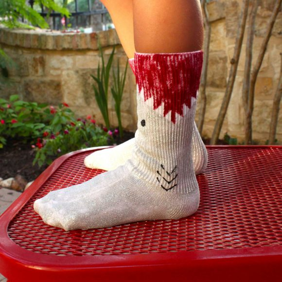 shark socks DIY