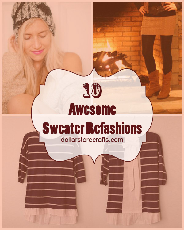 10 Sweater Crafts for Fall