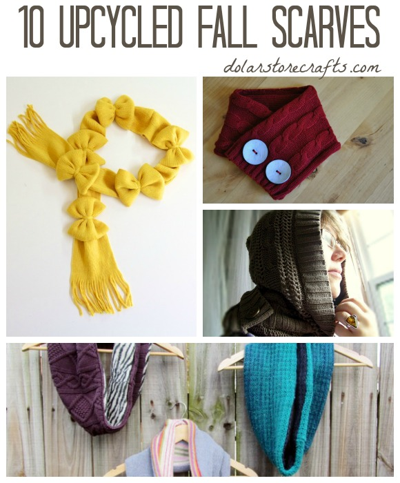 10 Upcycled Scarf Ideas for Fall