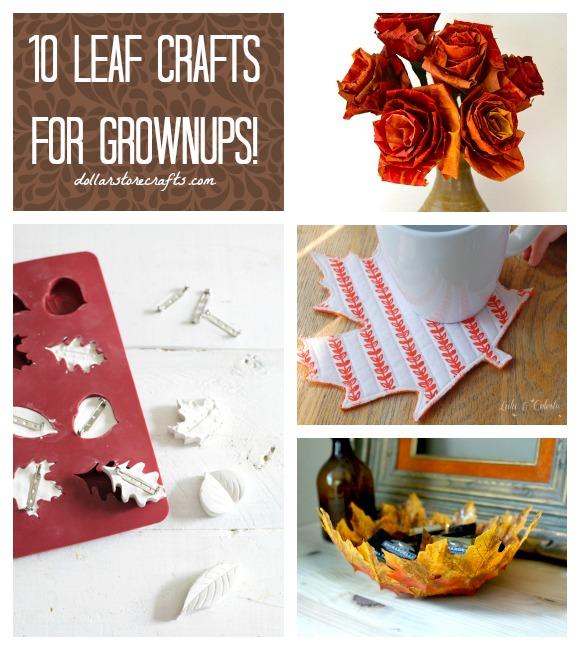 10 Fall Leaf Crafts