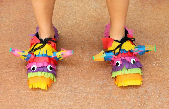 Pinata Costume Shoes