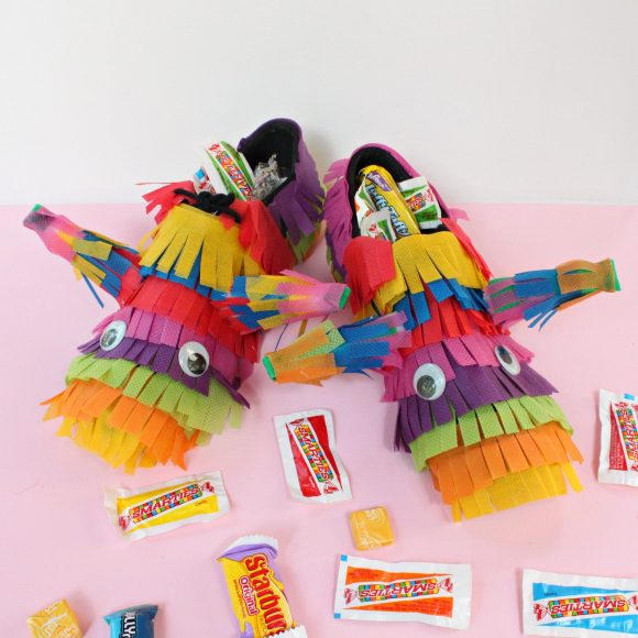Pinata Costume Shoes DIY