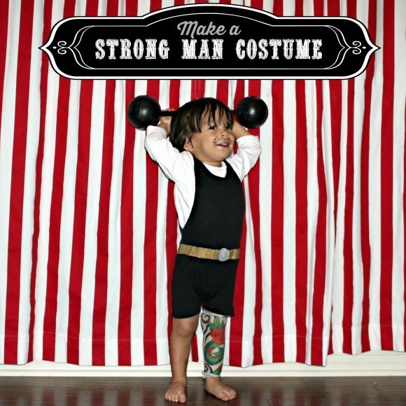 strong man costume DIY
