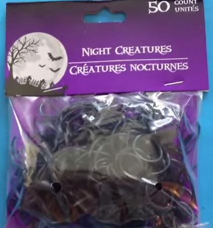 Plastic Halloween rings