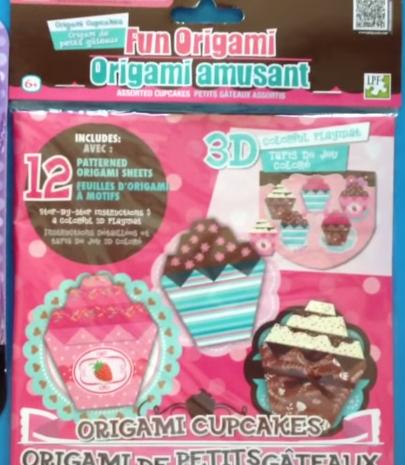 Origami cupcake kit