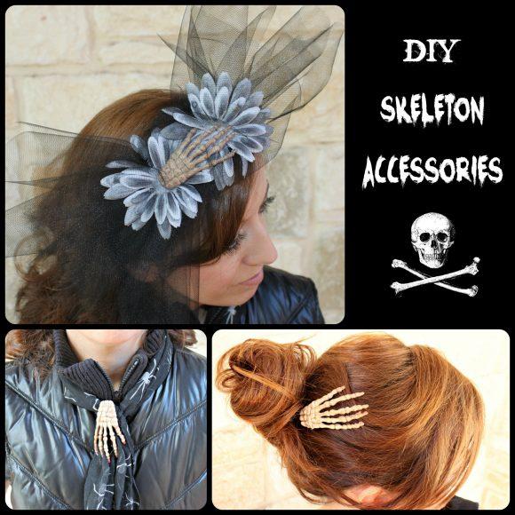 DIY Skeleton Accessories