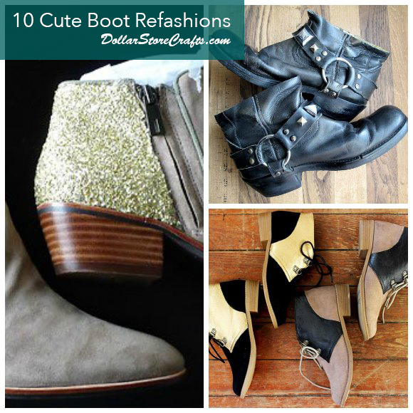 10 Boot Refashions for Fall