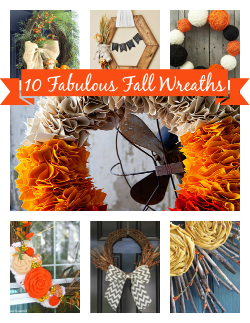10 Fall Wreaths to Make This Weekend