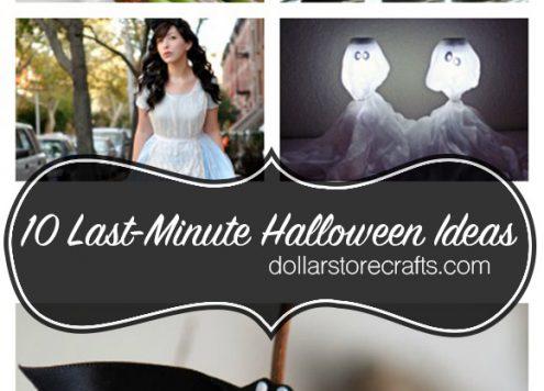 10 Last-Minute Halloween Ideas: Costumes, Decorations, + Treats