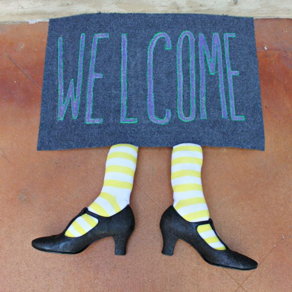 witchy welcome mat