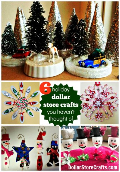 6 dollar store craft ideas for christmas that you havent thought of - Dollar Store Christmas Crafts
