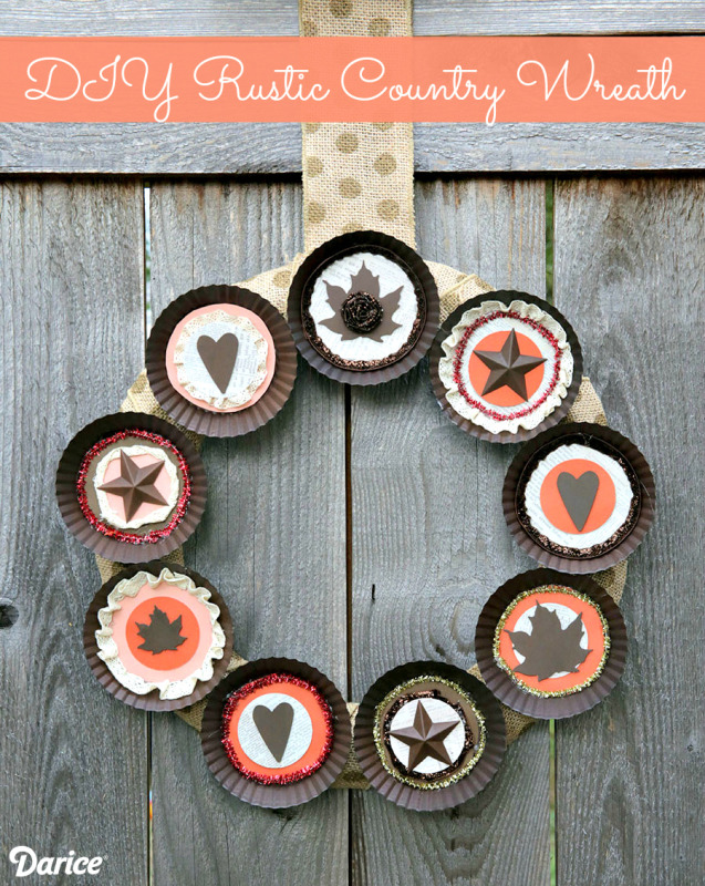 Rustic Altered Art Craft Ideas for Fall