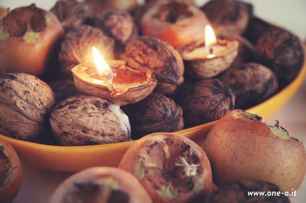 Make Nut Shell Tealights 187 Dollar Store Crafts