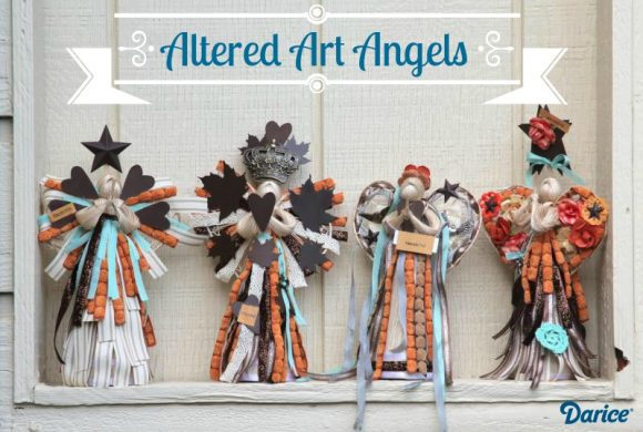 Fall Altered Art Angels