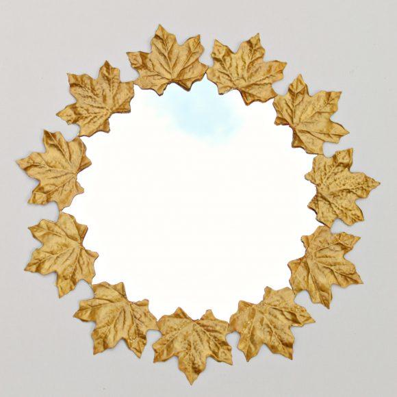 faux gold leaf