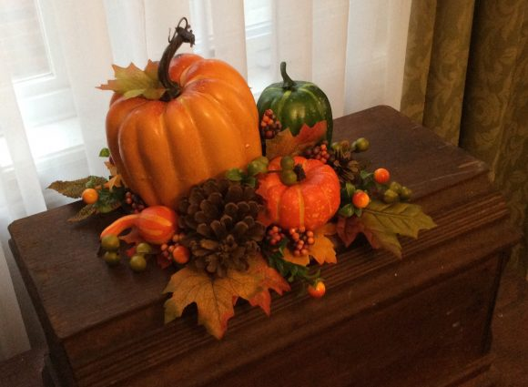 Yes, you can make this beautiful silk DIY Thanksgiving centerpiece and use it for years to come!
