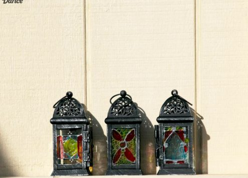 DIY Moroccan inspired Lanterns
