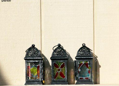 DIY Moroccan inspired Lanterns