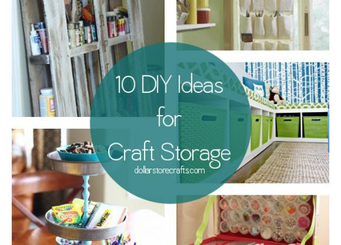 10 DIY Craft Storage Ideas