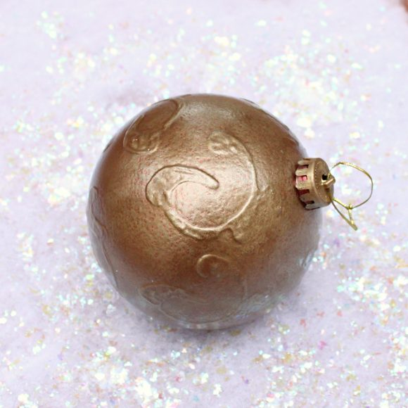 faux bronze ornament