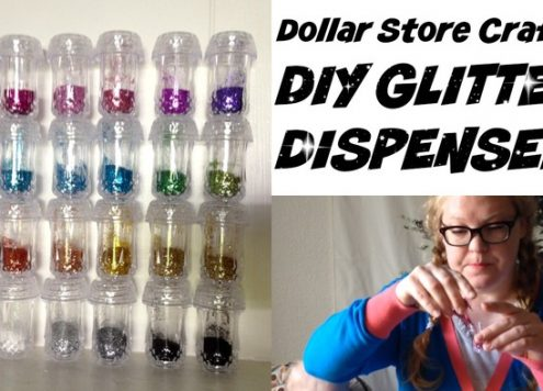 DIY Glitter Dispensers