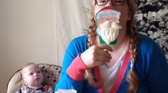 Santa Beard Pops