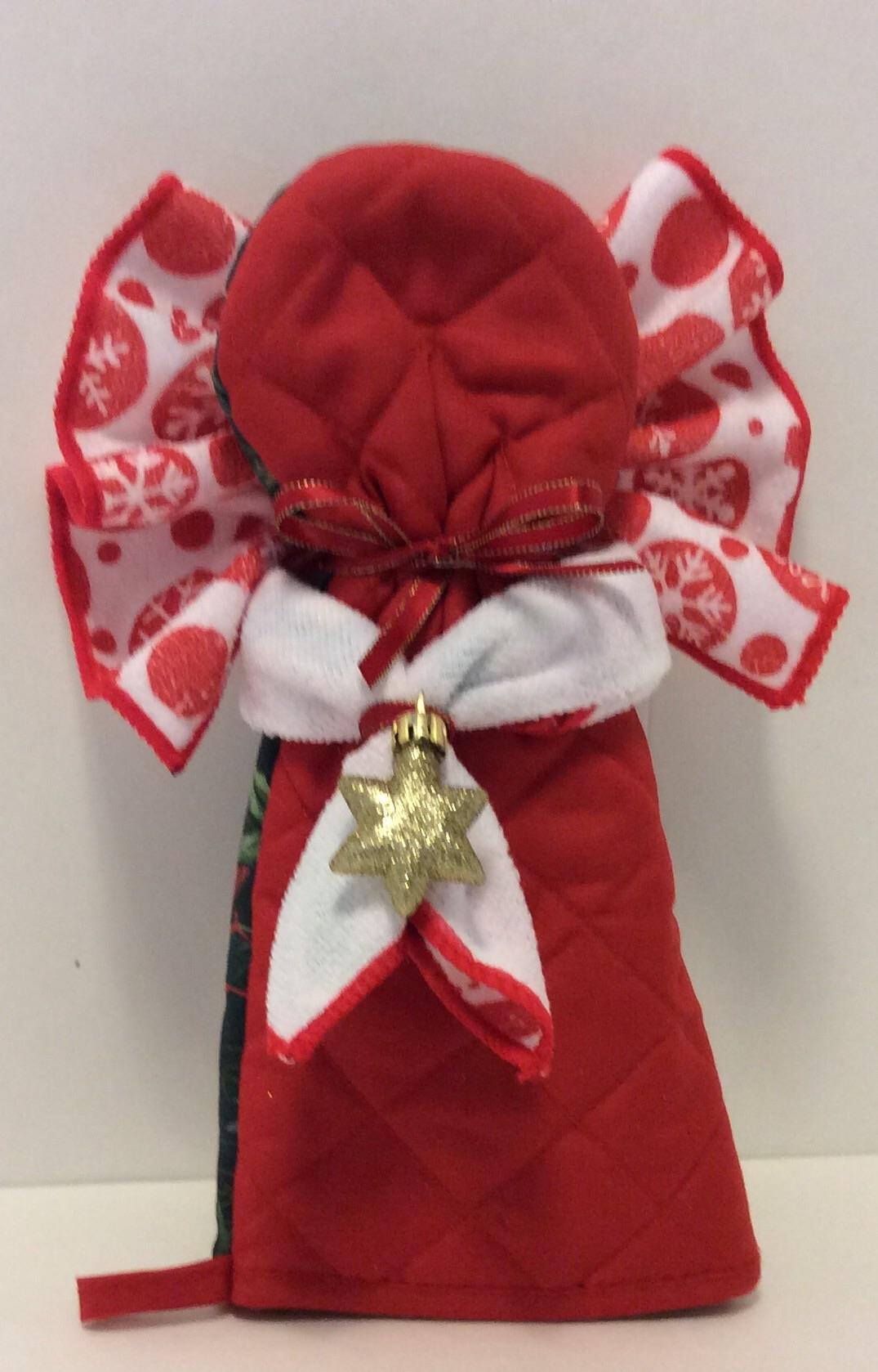 Pair Costume Ideas: Tutorial: Oven Mitt Angel » Dollar Store Crafts