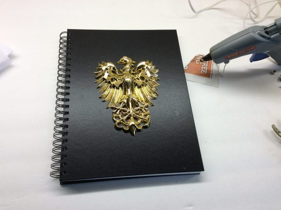 DIY custom notebook