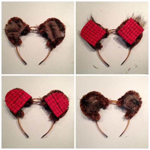 Paddington ears tutorial
