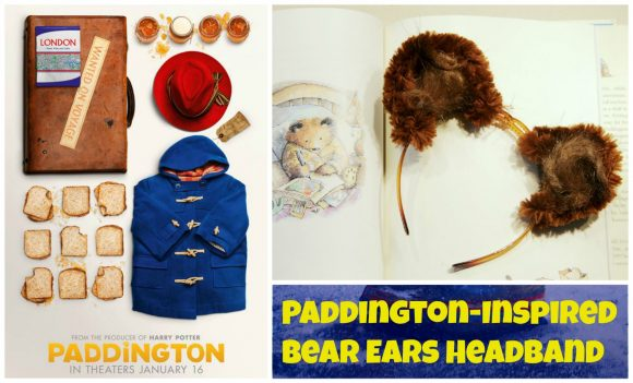 Paddington Inspired Bear Ears Headband Tutorial