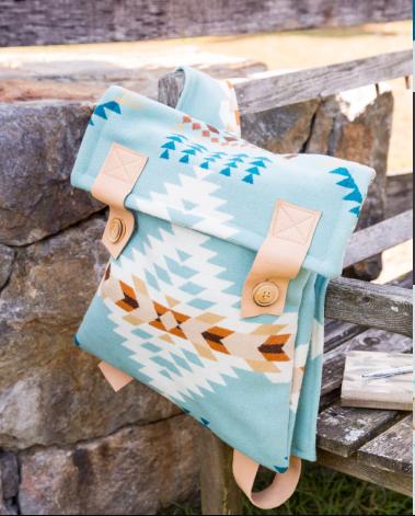 Heather Mann: Pendleton Backpack