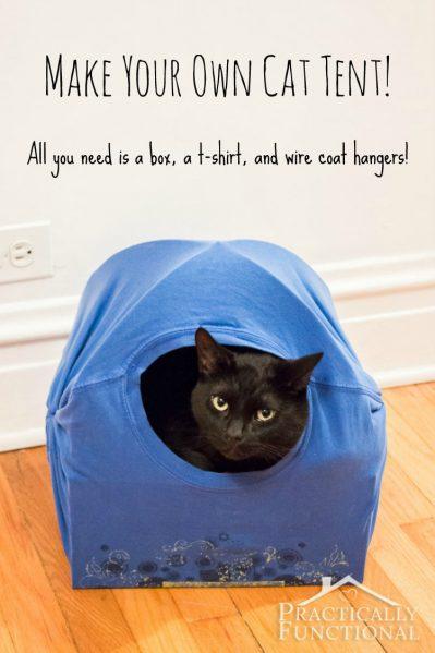 DIY-Cat-Tent-Bed-10