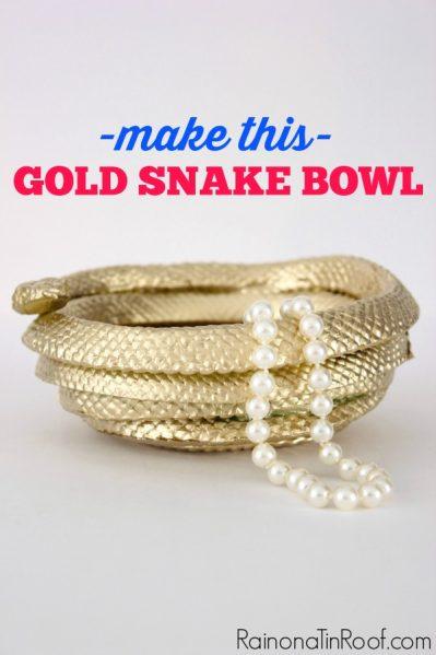 DIY-gold-snake-bowl-4