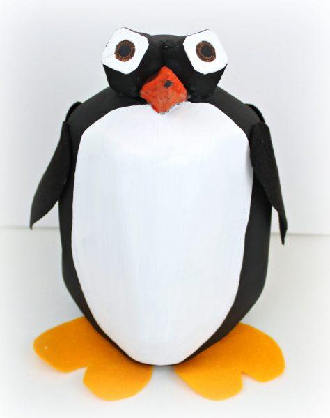 Penguin Valentine Pail