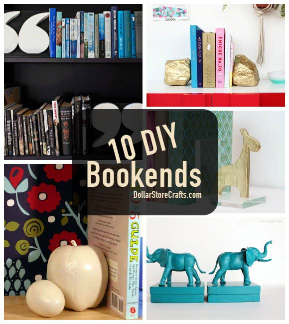 10 Cute Bookends to Get Your Bookcase in Order