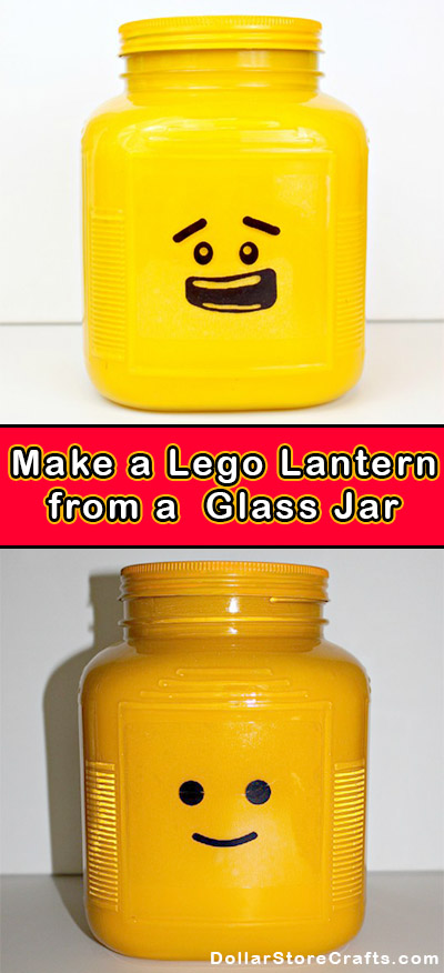 Lego Head Night Light - I have to try this!