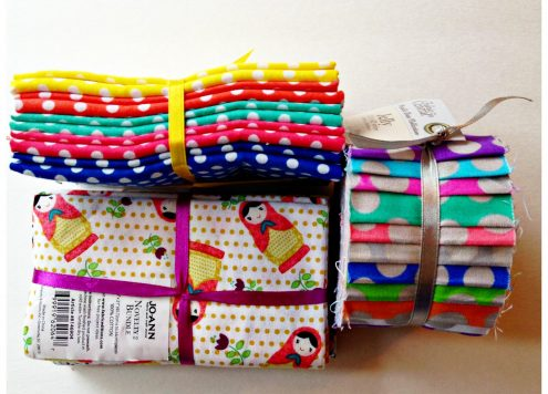 Fabric bundles - nesting doll fabric
