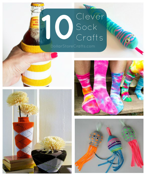 10 Sock Crafts