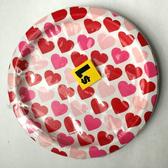 valentine plates