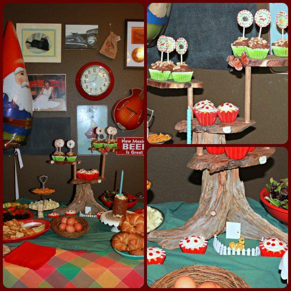 Make Woodland Cupcake Stand