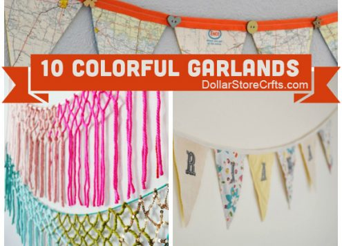 10 Pretty Garlands to Add Color to Your Life