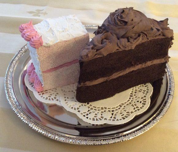 faux sponge cake