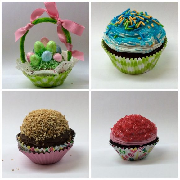 faux cupcakes