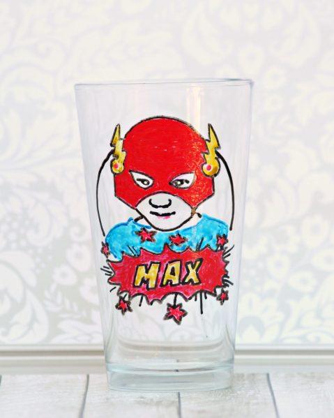 superhero glass