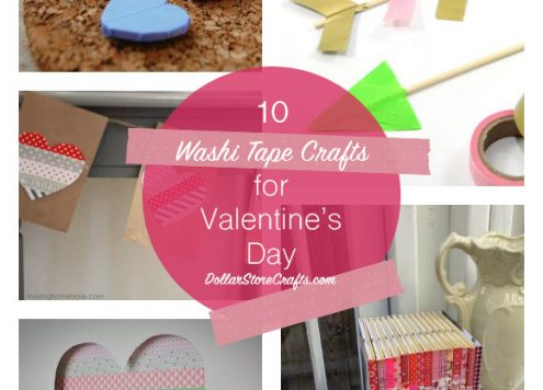 10 Washi Tape Crafts for Valentine's Day