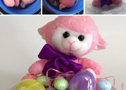 DIY Scented Plush Toy - This is the perfect gift for someone who wants the fragrance of a candle but can't use a candle. Some of these places include nurseries, children's rooms, Senior Care facilities, the office, and I'm sure you can think of a few other places.